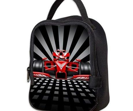 Formula 1 Race Car Lunch Bag – Designed by BluedarkArt