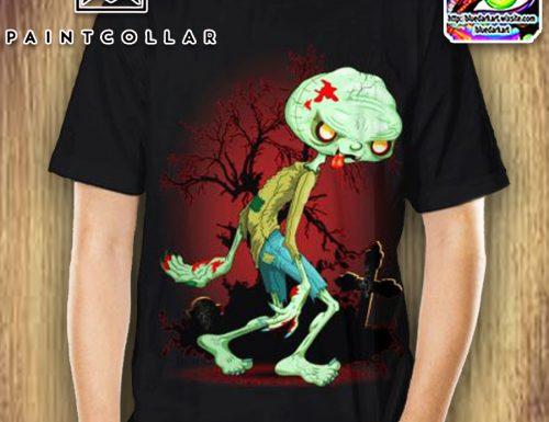 Zombie Creepy Monster Tshirts – SOLD! Design: BluedarkArt
