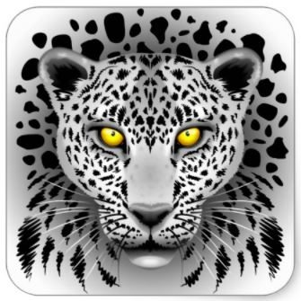 SOLD! White Leopard Stickers | Designed by BluedarkArt | Zazzle