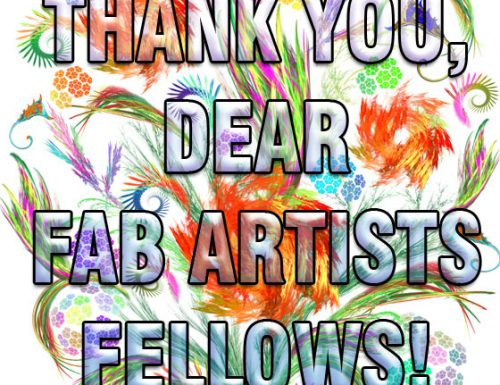 An Enormous THANK YOU to my Friends Artists for their Lovely Support!