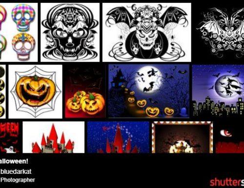 Halloween illustrations Gallery on Shutterstock