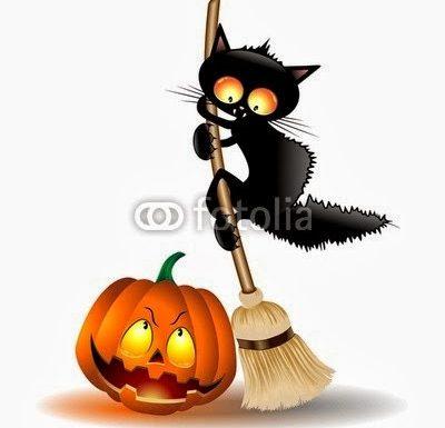Black Cats Attack! Illustrations Copyright © BluedarkArt