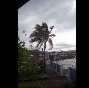 Irma Hurricane passing far from Martinique – Sept.07.2017