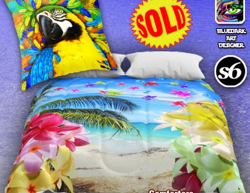 Your Exotic Home! Pillows and Comforters SOLD on BluedarkArt's Society6 Shop