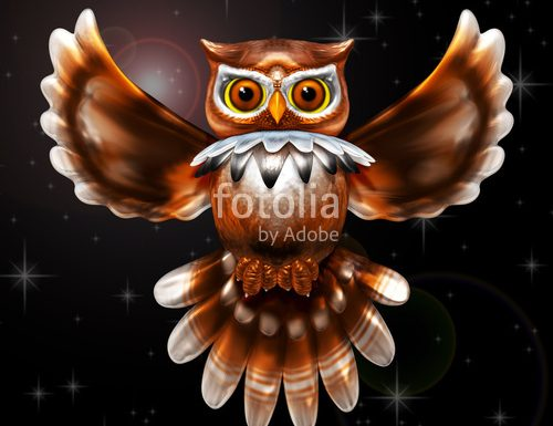 OWLS – Awesome, Cute, Wise, Steampunk, and more! Designs © BluedarkArt