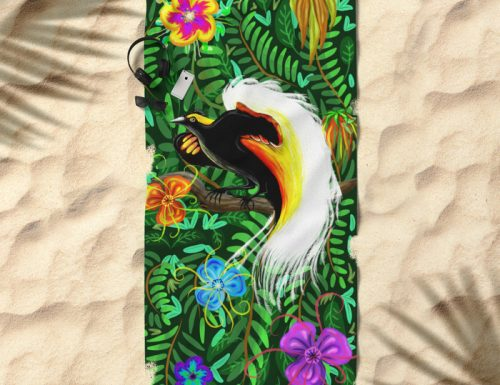Paradise Bird Fire Feathers ☀ Several Products are now available for sale on Shops!