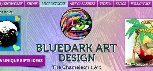 About BluedarkArt a.k.a. The ChameleonART