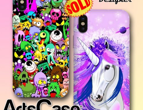 iPhone X Cases SOLD on ArtsCase Shop | Designs by BluedarkArt