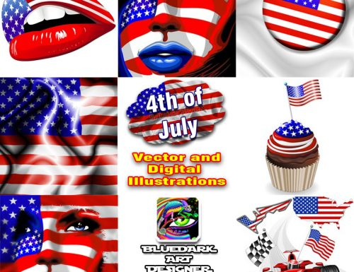 4th of July Illustrations © BluedarkArt | Fotolia Portfolio