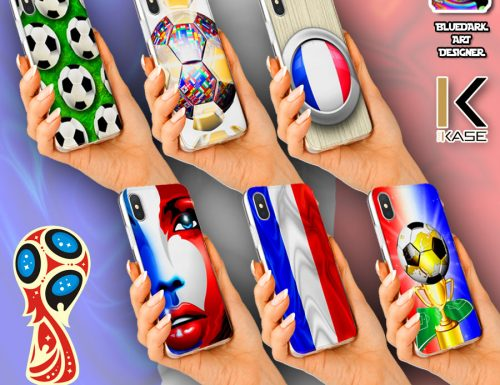 France Soccer Phone Case – Coques Personnalisées Smartphone – Designed by BluedarkArt