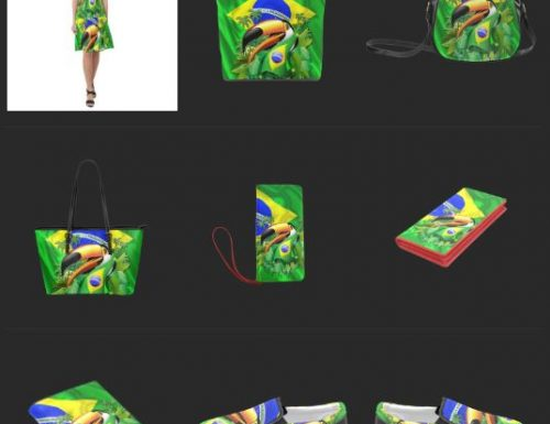 "SOLD! 9 Products with my ""Toco Toucan with Brazil Flag"" ! Thank You ❤"