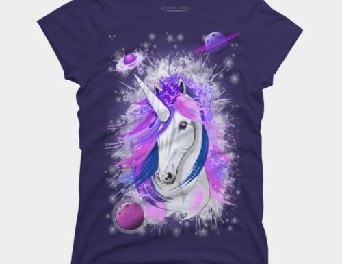 SOLD! Thank You! Unicorn Spirit Pink and Purple Mythical Creature