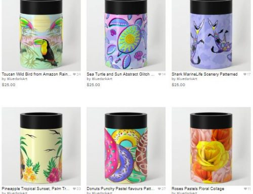NEW! Can Coolers are here! Designed by BluedarkArt