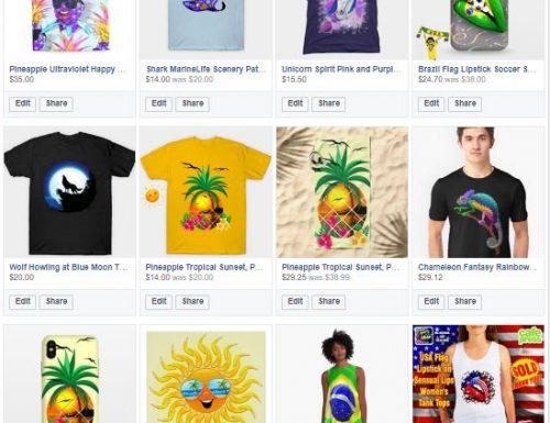 Shopping Online – TheChameleonArt Design, by BluedarkArt