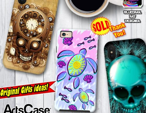 Orginal and Unique Smartphone Cases – Gift Ideas on ArtsCase