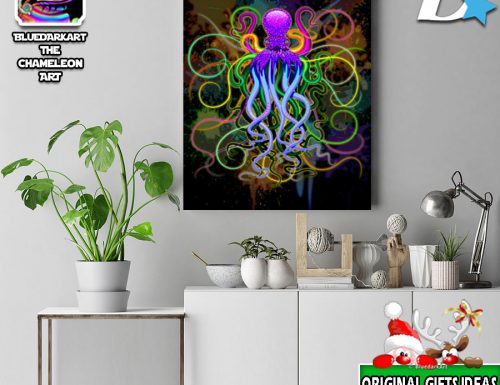 20% Off Sitewide on BluedarkArt TheChameleonArt's Displate Art Gallery!